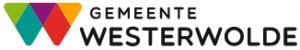 Logo van de gemeente Westerwolde: een kleurig en fleurig gebeuren, allemaal driehoekjes in felle kleuren.